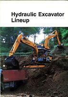 Komatsu Hydraulic Excavator Lineup brochure