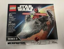 LEGO Star Wars 75224 Sith Infiltrator Microfighter Darth Maul NEW SEALED Retired
