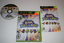 Ultra Bust-a-Move Microsoft Xbox Video Game Complete