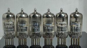 6 x tubes  Philips  E88CC 6922   (217011)