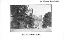 7034) UN SALUTO DA CASTELLUCCHIO (MANTOVA), VILLA CAPILUPI. GIARDINIERI (?)