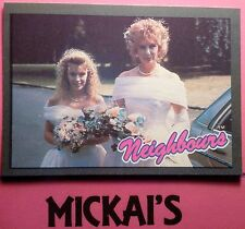 """TOPPS """"NEIGHBOURS"""" TRADING CARD NUMBER 12 1988 (Grundy Television) - New & Mint"""