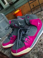 Jordan 23 Flight Pink and White Shoes Size 7
