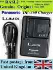 Genuine Panasonic LUMIX charger DE-A60 DMW-BCF10E DMC-FS42 FS4 FS11 FS10 TS1 TS2