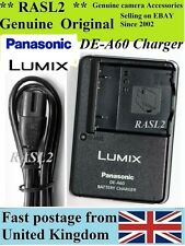 Genuine Panasonic Lumix CARICABATTERIE de-a60 dmw-bcf10e dmc-fs42 fs4 fs11 fs10 ts1 ts2