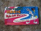 Vintage 1955 Bugs Bunny's Magic Rub-Off Pictures
