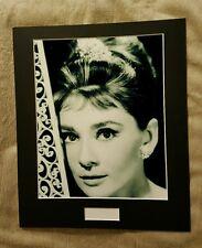 Audrey Hepburn Black and White 8x10 photo