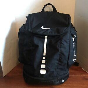 Nike Elite Basketball Pro Sports Backpack Bag Black White Unisex BA4625-001 EUC