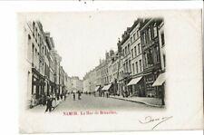 CPA-Carte Postale-Belgique-Namur-Rue de Bruxelles  -1902-VM19160