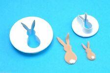 PME cortador de Conejo set 2 Tamaños Easter Bunny Pastel Decoración envío al día siguiente