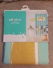 Pillowfort Surfboard Fabric Shower Curtain Surfer Beachy 72x72