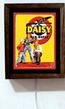 Daisy Father & Sons Airgun Red Ryder BB Guns Advertising Light Lighted Sign