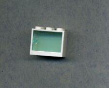 Lego--4532/4533 --Schrank,Container,Box - 2 x 3 x 2 - Mit Türe-- Weiß/Trans/Blau