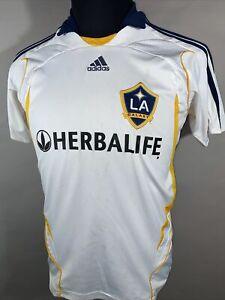 Adidas Los Angeles Galaxy David Beckham #23 Mens Soccer Jersey Large