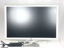 "APPLE A1083 CINEMA HD DISPLAY 30"" LCD WIDESCREEN MONITOR + 150W POWER ADAPTER"