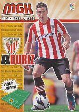 N°036 ARITZ ADURIZ ZUBELDIA # ESPANA ATHLETIC CLUB CARD PANINI MGK LIGA 2014