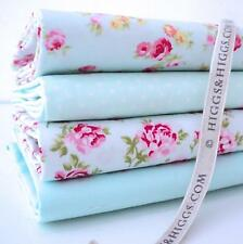 4 X Fq Bundle-Rosalind Rosa Pastel Perfecto Flores 100% Algodón Tela Patchwork