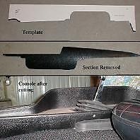 Mopar 4sp Console Template E-Body Challenger Cuda 71-74 B-Body GTX Charger