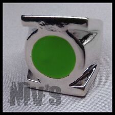 DC Comics Universe Green Lantern Official Movie Metal Silver Power Ring Size 12
