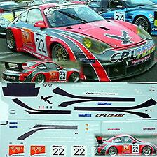 Porsche 911 GT3 Belcar 2006 Prospeed Racing 1:18 Decal Abziehbild