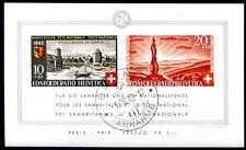SCHWEIZ 1942 BLOCK7 gestempelt TADELLOS + ORIGINALGUMMI 300€(D4594