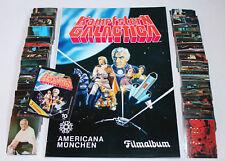 AMERICANA 1978 KAMPFSTERN GALACTICA - KOMPLETTSATZ COMPLETE SET + ALBUM + TÜTE