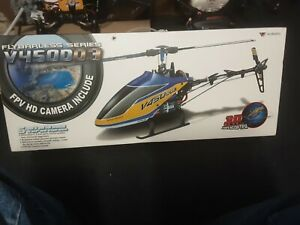 Walkera V450D03 6CH Fly FPV 1080p Camera 32gb System Single Blade BNF Helicopter