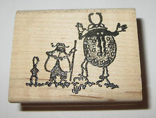 Ladybug Fly Rubber Stamp Insects Bug Trio Walking Stick Flies Outdoors