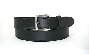 "Mens/Ladies Genuine Leather Belt 1""/25mm 8 COLOURS, sizes S,M,L,XL,XXL,XXXL B3"