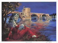 Ex-libris Offset Halloween Blues Le pont d'Avignon