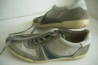 Herren Sneakers ECCO Echtleder Gr 43 Boots Leder Sneaker Schuhe