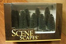 "BACHMANN SCENE SCAPES N SCALE 3"" - 4"" CEDAR TREES   (9) TREES/BOX"