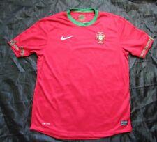 Portugal Euro 2012 Home Jersey Shirt Nike 2013 Seleção le QUINAS Adult Size L
