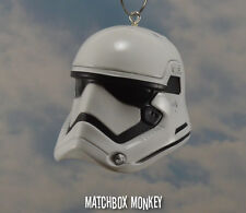 Custom Star Wars Storm Trooper Helmet Ornament The Force Awakens Jedi New Order
