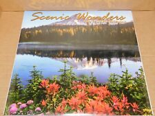 2020 Calendar - Scenic Wonders of Nature - 12 Month Wall Calendar NEW Sealed