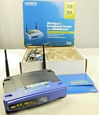 Linksys WRT54GS Version V7 VPN WIFI Secure Repeater Router DD-WRT UK FREE POST