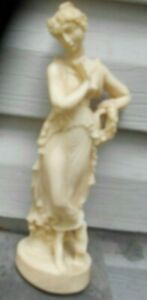 """Vintage Aphrodite Statue """"Made in Italy""""  Made of Stone or Marble"""