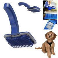 Self Cleaning Pet Dog Cat Slicker Brush Grooming For Medium Long Hair Pets Lot