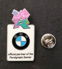 LONDON 2012 PARALYMPIC BMW OFFICIAL PARTNER PIN BADGE
