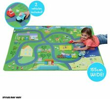 Peppa Pig Jumbo Large Mega Play Mat Playmat & 2 Vehicle Accessories Toy