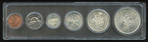 1964 Canada Mint Set in Acrylic Case