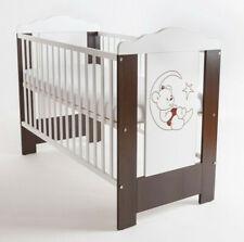 Baby Bed Cot Moonbear 120x60 Mattress Solid Wood Wood Wenge New