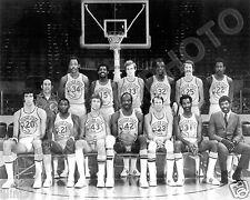 1971-72 GOLDEN STATE WARRIORS 8X10 TEAM PHOTO