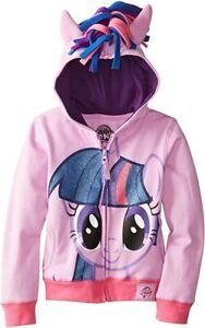 New My Little Pony Hoodie Purple HOODIE Twilight Sparkle 2,3,4,5,6,7 YEARS