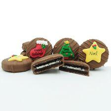 Philadelphia Candies Christmas Greeting Assortment Milk Chocolate OREO® Cookies