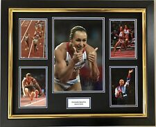 JESSICA ENNIS HAND SIGNED AUTOGRAPH FRAMED PHOTO DISPLAY OLYMPICS LONDON 2012 2.