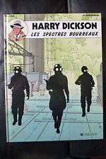 BD harry dickson n°2 les spectres bourreaux réédition 1992 TBE zanon