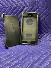 OTTERBOX Rugged Defender Case for Apple iPhone 6 6s Plus Holster Black