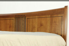 Stickley King Size Mission Style Bed With 2 Nightstands