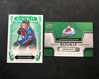 2018-19 UPPER DECK ARTIFACTS SHELDON DRIES ROOKIE EMERALD GREEN RED188 #ed 96/99
